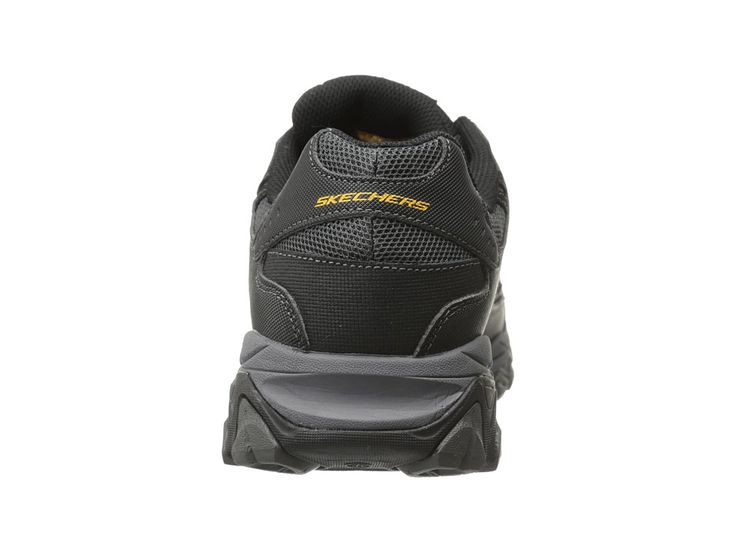SKECHERS Work Crankton Men's Shoes Black/Charcoal