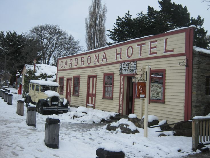 Wanaka winter at Cardrona Hotel