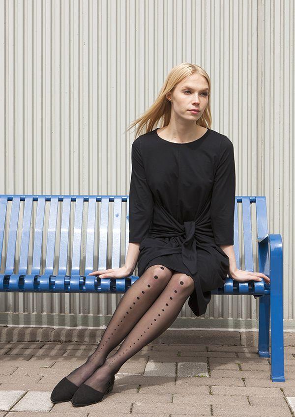 Sea dress and Vogue by Katri Niskanen tights / Nanso by Katri Niskanen SS 2016