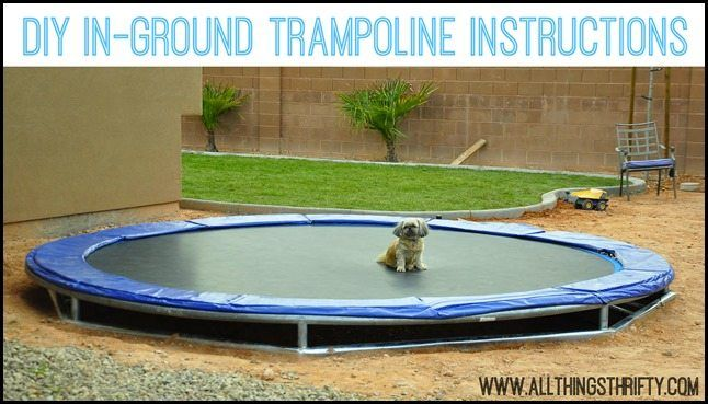 vuly trampoline basketball instructions