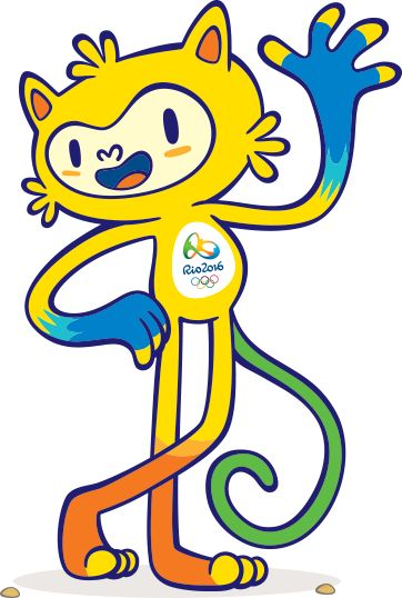 Mascote Olímpico Rio2016…