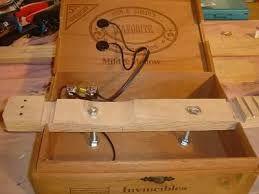 Resultado de imagem para 3 string cigar box guitar plans
