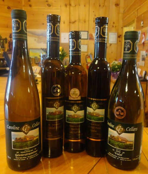 New Award Winners! :: Caroline Cellars Winery... LOVE this winery in Niagara on the Lake...LOVE the Late Harvest Riesling...it has an orange creamsicle taste to it