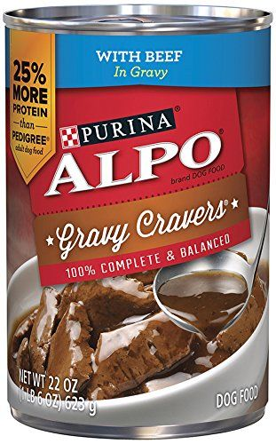 Purina ALPO Brand Dog Food Gravy Cravers With Beef In Gravy Wet Dog Food, 22-Ounce Can, Pack of 12 -- More details @