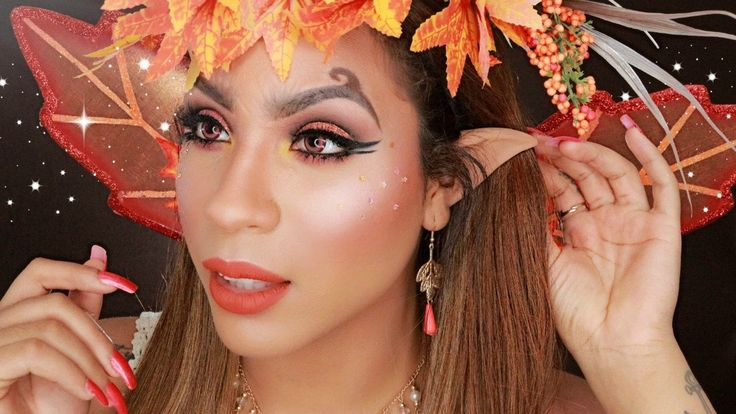 Autumn Fairy/Elf Makeup Tutorial | HALLOWEEN 2016 | Makeup ...