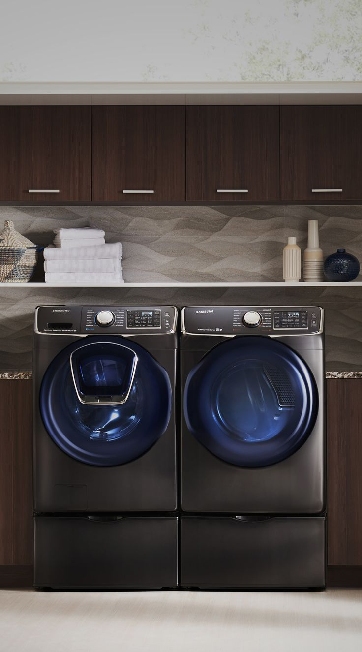 Ever start washing your laundry and forget to throw in a dirty item? We sure have, that's why we love Samsung's new AddWash™ door feature! You can now conveniently add in forgotten laundry after the cycle has begun, without starting all over again. Click through and check out Samsung AddWash™ at Abt.