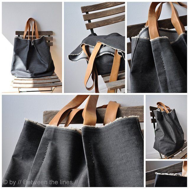 How to Make Bags - Tote, Messenger, Laptop. Craft Tutorials and Sewing How-Tos
