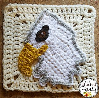 Ravelry: Bald Eagle Applique pattern by The Rusted Pansy