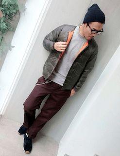 ダウン(緑)のコーデ!メンズに人気の緑のダウンジャケットを紹介! | Men's Code Collection