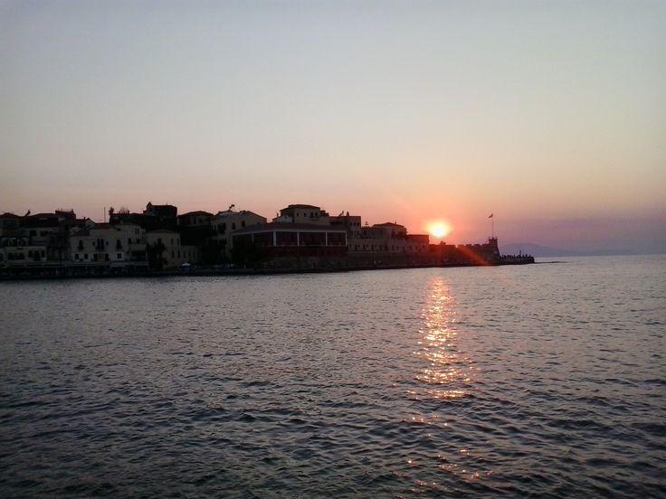 Central port, Chania, Crete