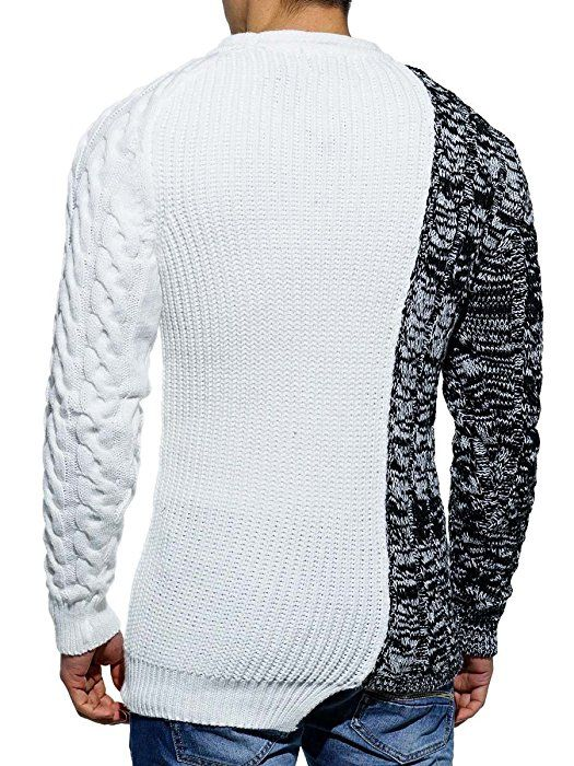 Tazzio Herren Pullover 17-402 Weiß XL  Amazon.de  Bekleidung   Men s fashion    Pinterest   Pullover c42bd22e98