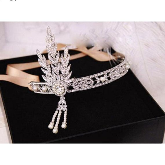 Wedding Hair Accessories UK SELLER Great Gatsby от retrobridal