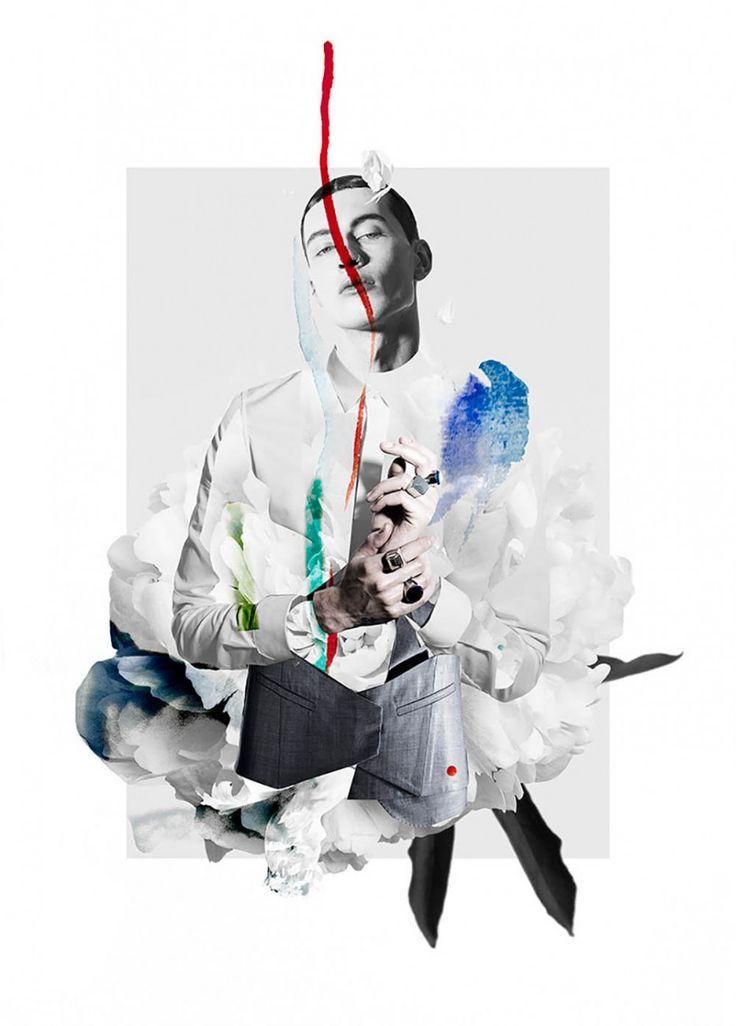 Fashion & Art: SixLee SS14 x Ernesto Artillo