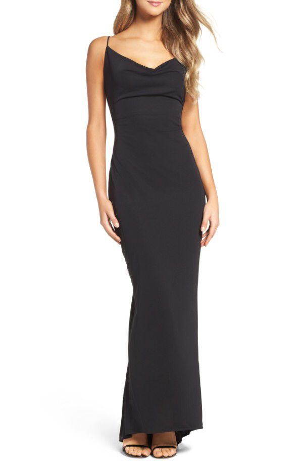 Maria Bianca Nero Maria Bianca Nero Haley Jersey Gown available at #Nordstrom
