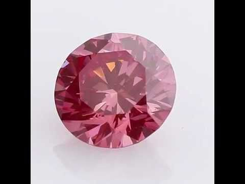 Vivial - Revealed Pink Purple  Diamond Go-027 1.42ct
