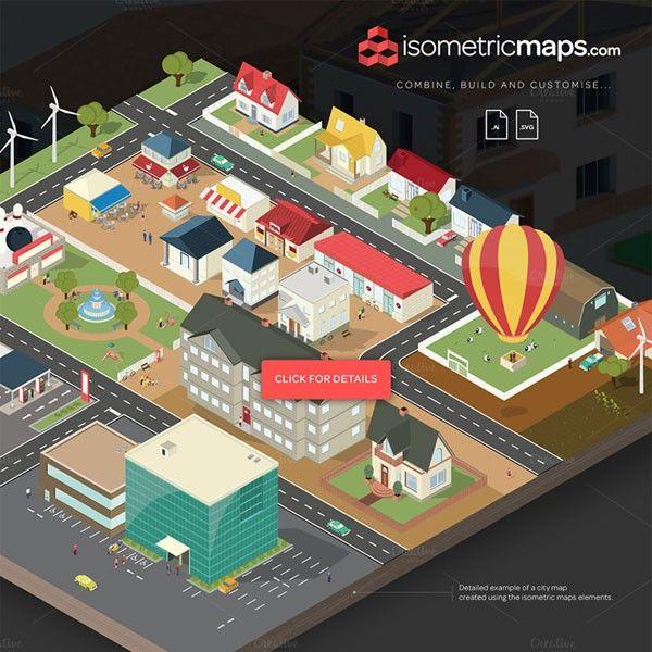 Isometric City Maps Builder