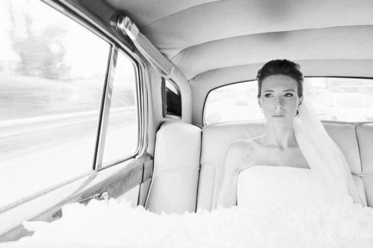 Schwarz-Weiß-Hochzeitsfotografie Wien