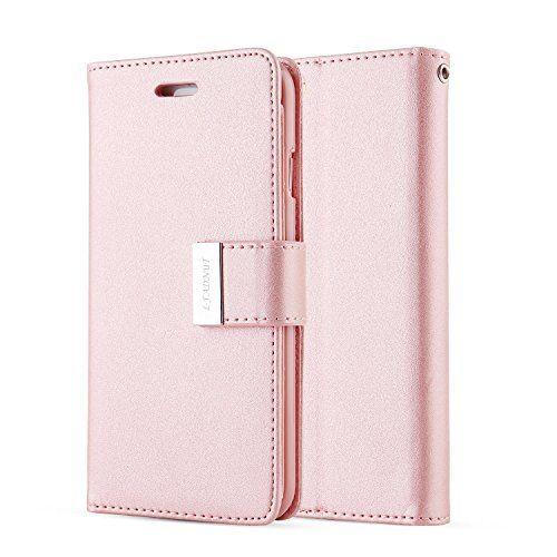 For iPhone 7 Plus CaseiPhone 7 Plus CoverL-FADNUT Premium Flip Stand Wallet PU L…