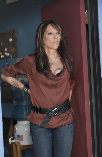 Gemma Teller. Love her wardrobe. Bringing out the little rock chick in me!