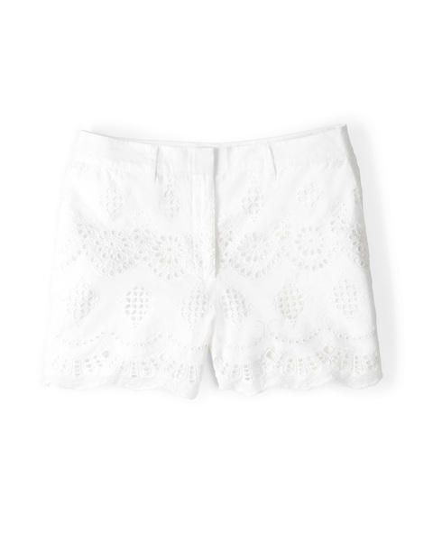 Pretty Embroidered Shorts WJ036 Shorts at Boden