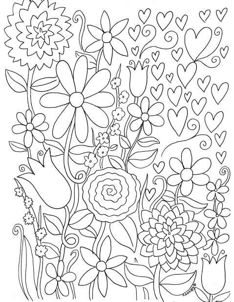 Who Says Coloring Is Just For Kids Its A Fantastic Skill Building And Stress Busting Activity Adults Here Are Two Free Pages On Craftsy