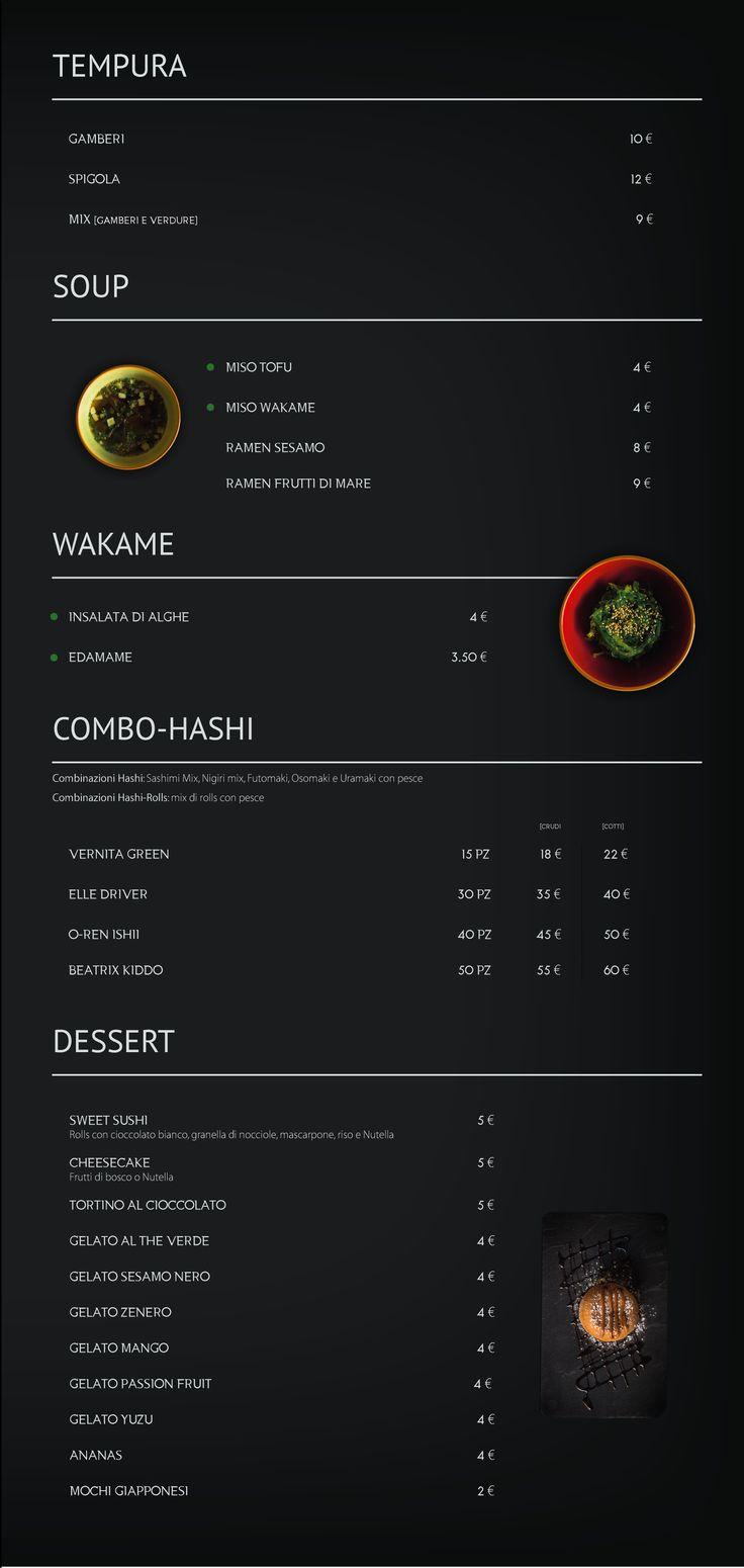 Sushi Exotic Menu