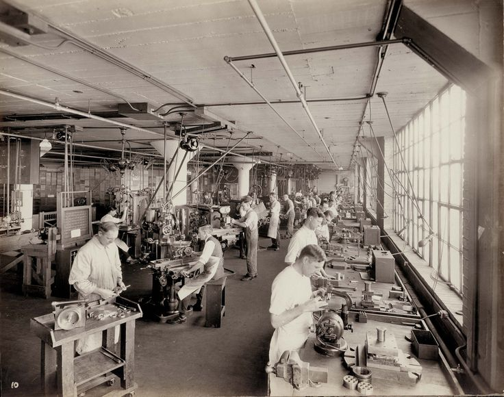 Workers at Emerson Electric, ca. 1920s | Flickr - Photo Sharing!