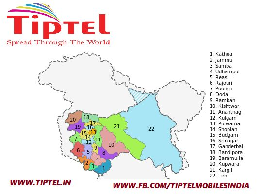 Business opportunity in #Jammu & #Kashmir  Tiptel Mobiles looking to collaborate with experienced distributors at Jammu & Kashmir state on district level.We will endeavour to promote our tie-up's through regular support for sales and maintenance. Join #Tiptel hand to spread affordable mobiles (Feature phone & Smart Phone). #JK #jammuandkashmir #Distributor #MobileDistribution #mobilenetwork#MobilePhone #TiptelMobile #TiptelAnorak #TiptelRejuve #TiptelLima#TiptelInfinity #TiptelJuliet…