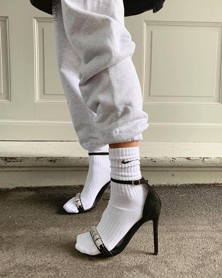 @namelazz #velvetdynasty | Fashion, Socks and heels, Sock ...