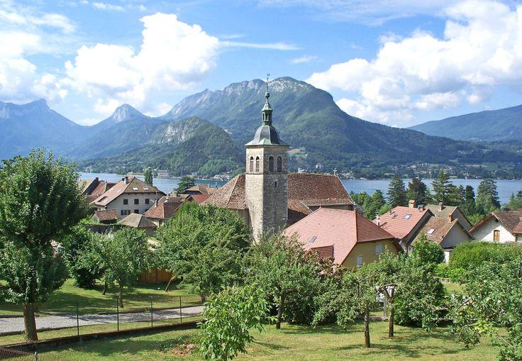 Haute-Savoie, Lac d'annecy, Talloires. France