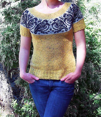 Ravelry: Bullfinches pattern by Natalia Moreva