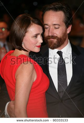 Maggie Macfadyen Keeley Hawes's Daughter | Matthew Macfadyen and Keeley Hawes arriving for the UK Premiere of The