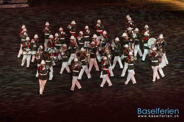 #Basel Tattoo 2013 - Royal Corps of Musicians, #Tonga