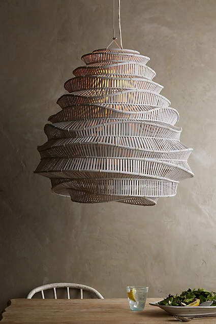 Bamboo Cloud Chandelier - #anthrofave                                                                                                                                                                                 More