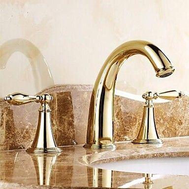 Ti-PVD finitura classica in ottone lavandino rubinetto del bagno