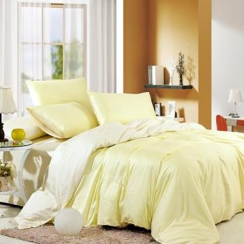 The quilt is solid yellow design, and reverse side is solid white. Take the style of your bedroom to new heights with the Egyptian cotton bedding sets. Luxury and serenity can be yours when you dress your bed in this solid yellow and white bedding sets.#Sothebys #Luxury #Bedding #FloralPrint #Decor #InteriorDesign #InteriorDecor