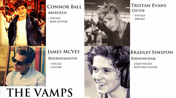 the vamps ages  | The vamps band birthdays | Hello-Berlin... hello-berlin.net The Vamps ...