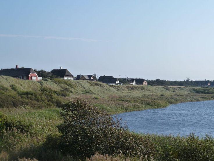 Danish Summer houses in Nymindegab, Jutland.