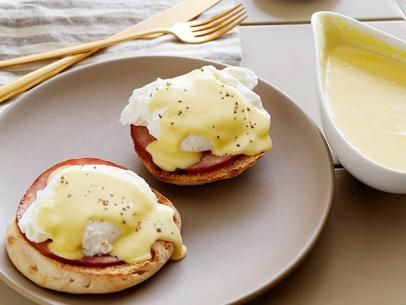 Hollandaise Sauce -- I don't think it's worth the fat by the bf loves it and this tastes similar to the one his uncle makes over the holidays.