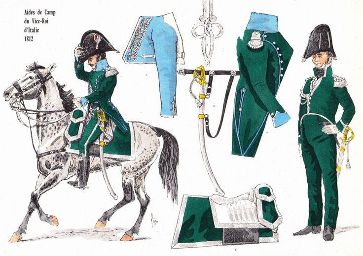 ADC du Vice-Roi d'Italie 1812