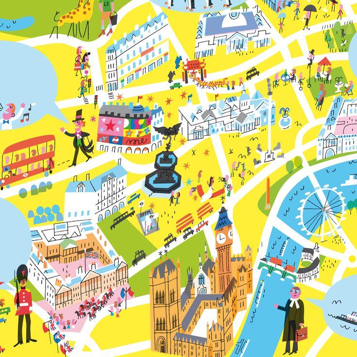 Peter Allen - Map of London