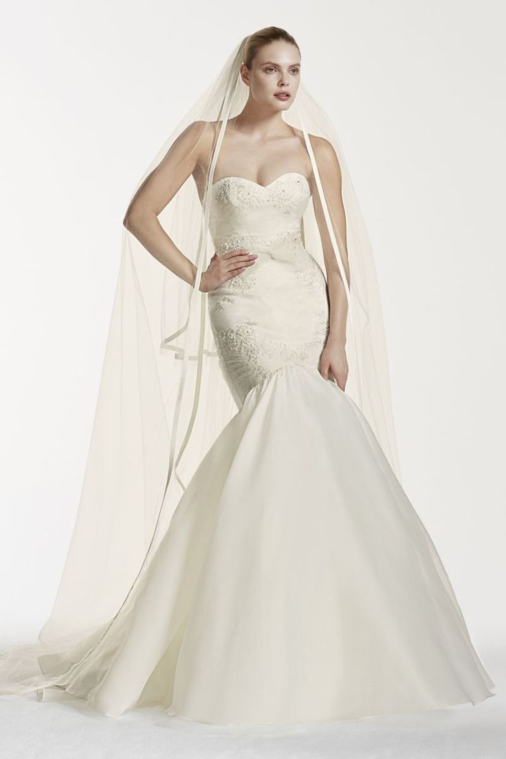 Truly Zac Posen Mermaid Wedding Dress with Lace Style ZP341560