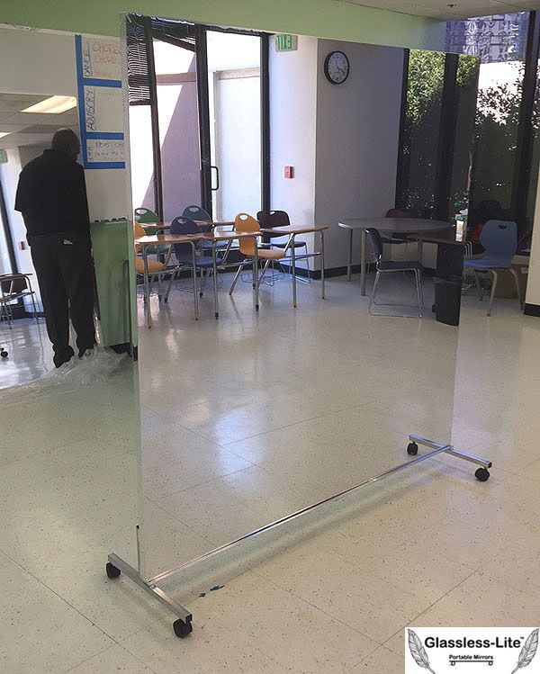 Rolling Dance Mirror Dance Mirrors Home Gym Mirrors Gym Mirrors