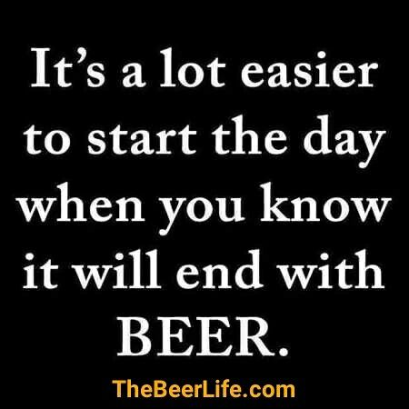 Every day needs to end with beer! Check out TheBeerLife.com