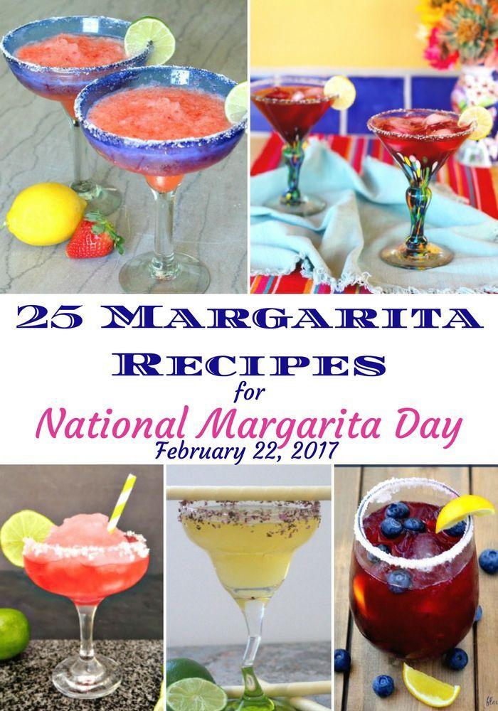 """Margarita Recipes, National Margarita Day"""