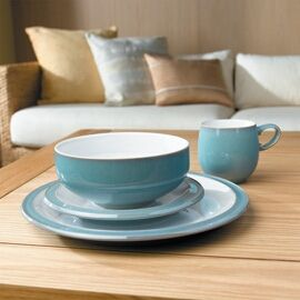 Denby pottery. Made in Derbyshire since 1809.