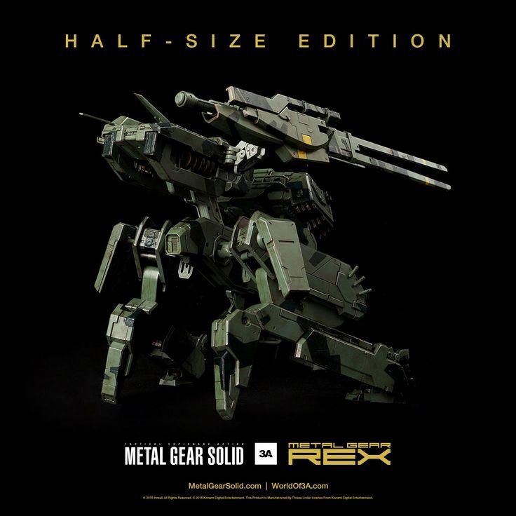 Metal Gear Solid figurine Metal Gear Rex Half-Size Edition threeA Toys