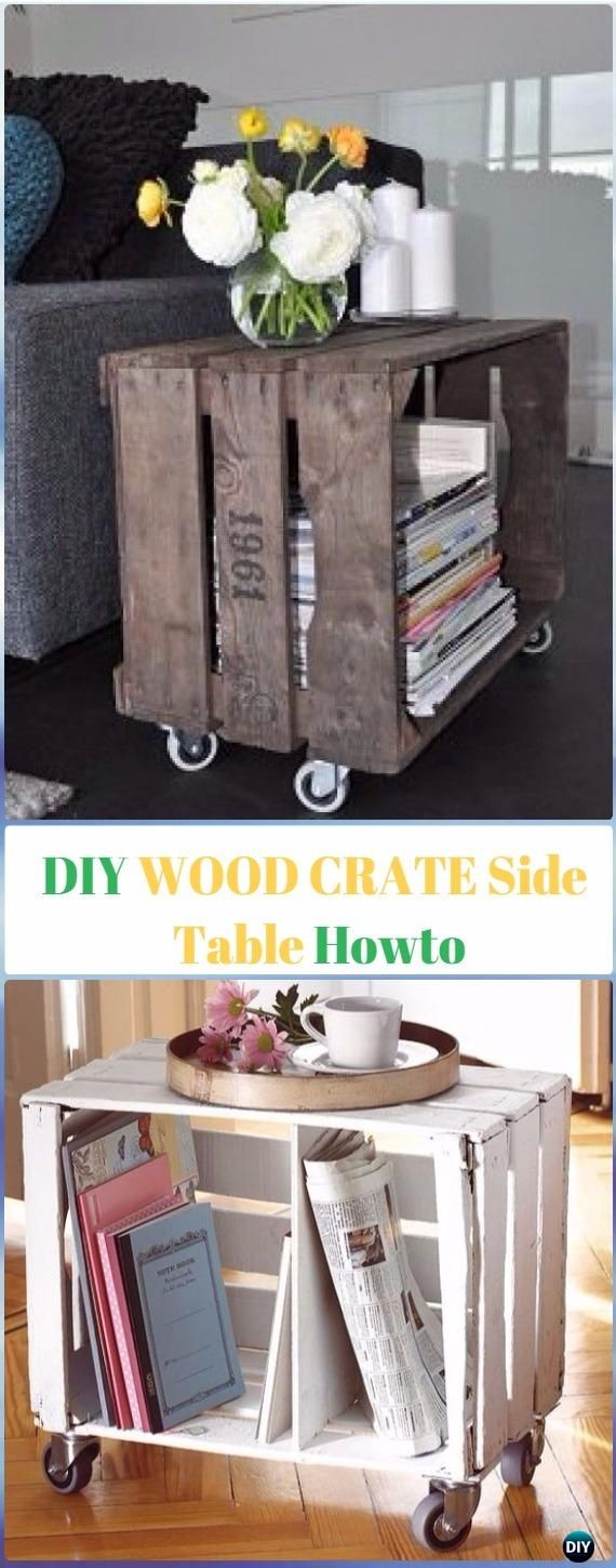 Uncategorized hand painted childrens table and chairs foter - Best 25 Wood Crate Furniture Ideas On Pinterest Wood Crate Shelves Crate Furniture And Crates