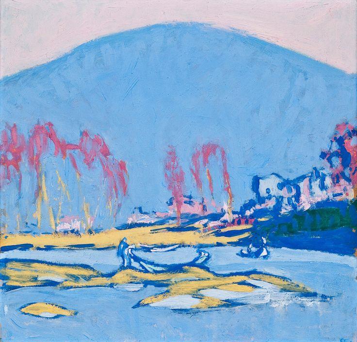 Ellen Thesleff, Italian Landscape. (Ellen Thesleff 1869-1954) Finnlander