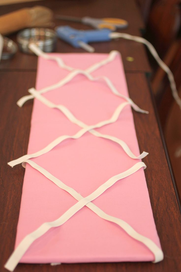 DIY Hair Bow Holder (or Message Board!) - Repeat Crafter Me